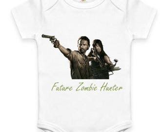 Future Zombie Hunter Baby Clothes