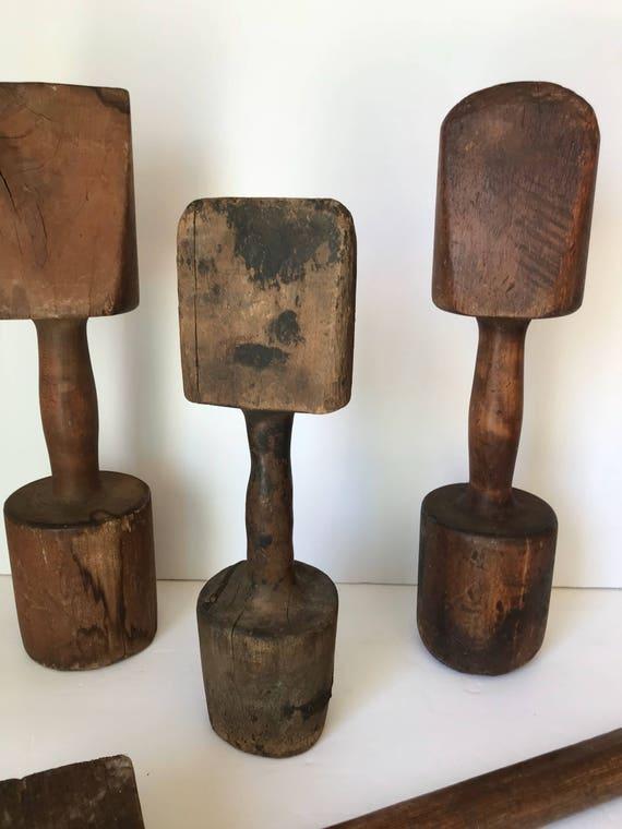 Antique Wooden Tools Primitive Wooden Tools Foundry