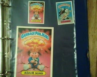 garbage pail kids 1980's collection