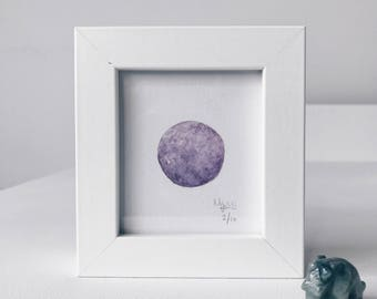 Framed Mini Moon Limited Edition Number 2/10