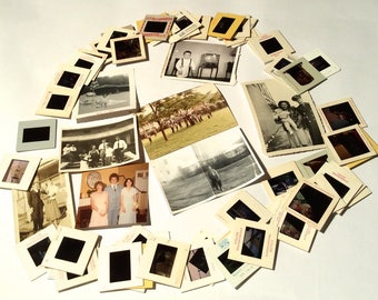Vintage 1950s-1970s Lot of Photographs and Slides