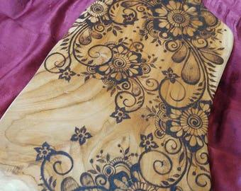 EnshrineDesign Repurposed Indonesian Acacia wood cutting/cheese board