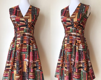 Book Lust Retro Dress size Large