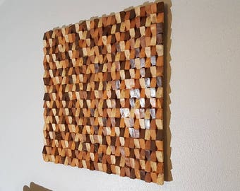Wooden Wall Art For Sale Large Wood Art  Etsy