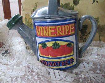 Vintage Cook's Club Watering Can Shaped Tea Pot
