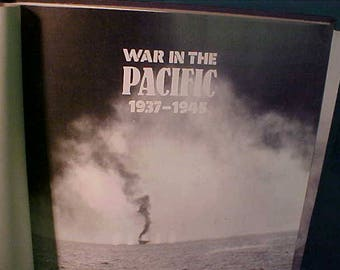 War In The Pacific 1937 - 1945 HB Book 1991 w/ Illustrations