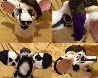 Fursuit/Cosplay Head Commission