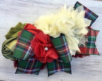 Dog collar, Christmas dog collar, dog christmas collar, fancy dog collar, flower dog collar, wedding dog collar, dog wedding collar, dog wed