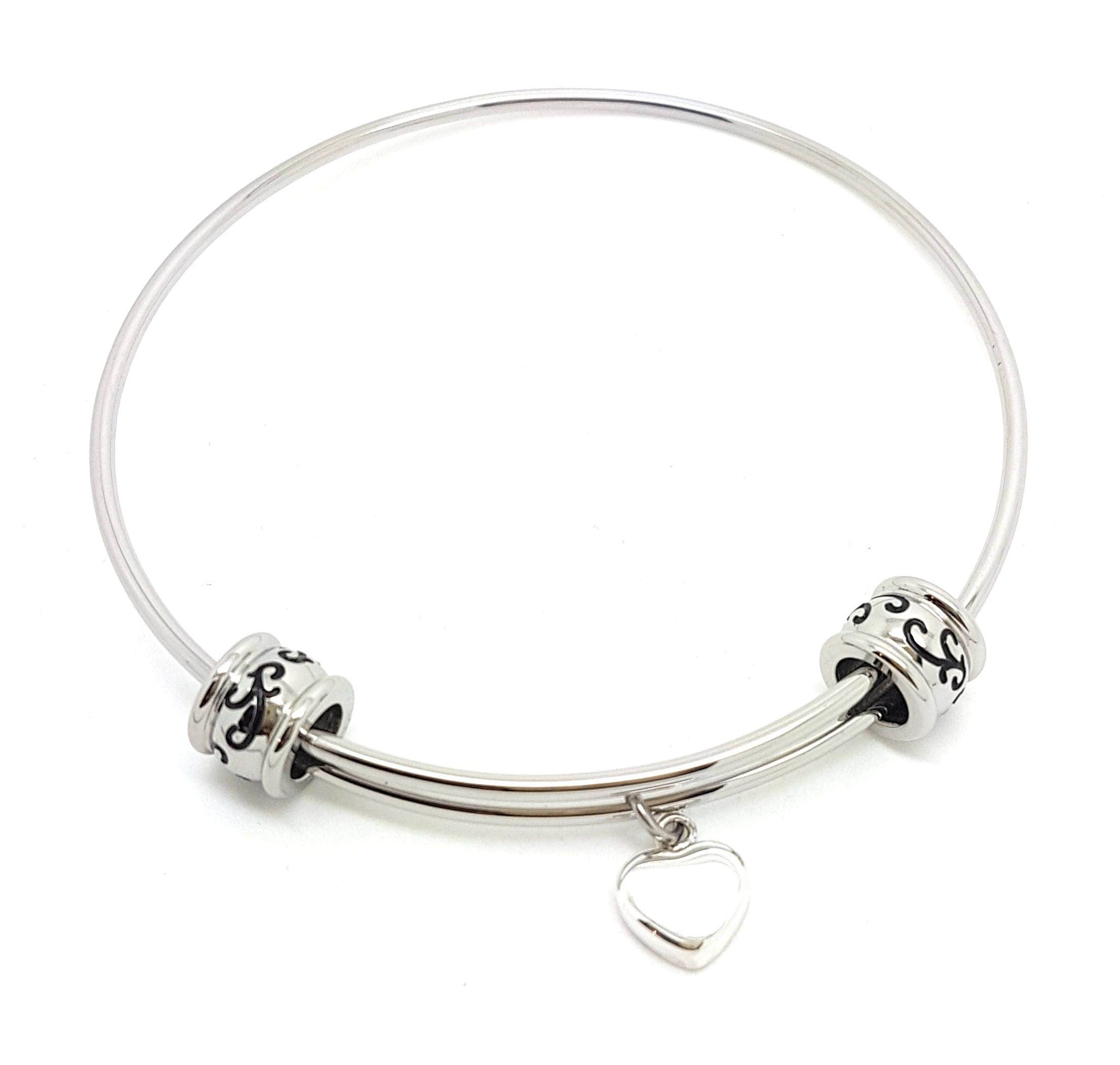 bangle p charms cool women bracelet sterling her girls charm silver for bracelets bangles
