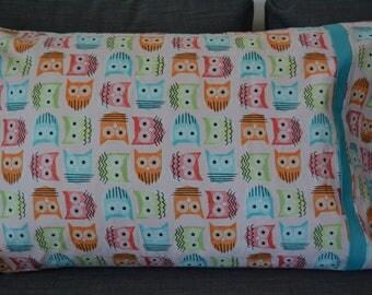 Pastel Owls Pillowcase