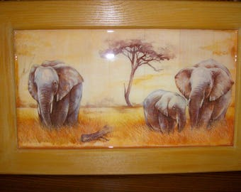 "Great pattern ""elephant frame"