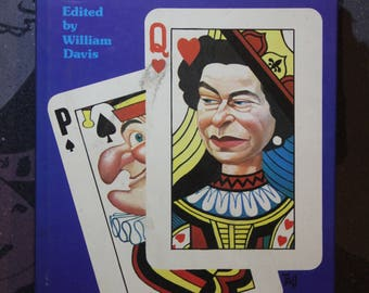 Vintage 1970s Punch and the Monarchy Satire Book