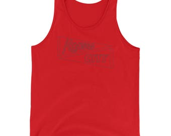 Kansas City Tank  - Pennant KC Tank Top - KC, KCMO, Kansas City Gifts - Landlocked - A Kansas City Company