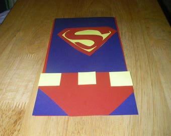 20 PC Superman Goody Gift Bags Party Favors Candy Treat Birthday Bag