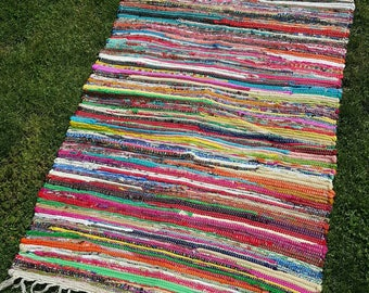 Love Rug Handwoven
