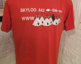 Size XL (48) ** 1980s Skyloo 442 Lodge Shirt (Deadstock Unworn)