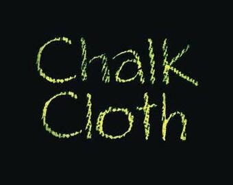 "Chalk Cloth 48"" Wide Oil Cloth"