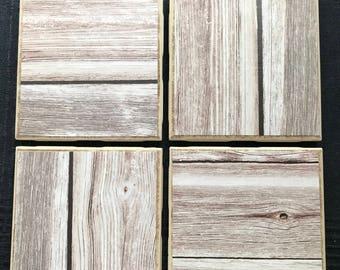 Ceramic Tile Coasters - Textiles
