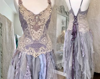 RESERVED custom made dress for Oona  !!!!!!!!Wedding dress lavender,bridal gown purple,beach wedding dress lavender,boho wedding tulle,pagan