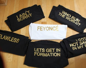 Beyonce Inspired Tanks!
