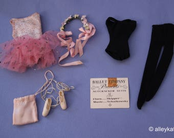 Vintage (Barbie) Skipper Ballet Lessons Fashion, EXC/NM Complete