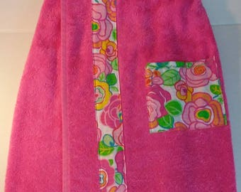 Girls Medium Pool/Beach/Shower Spa Towel Wrap