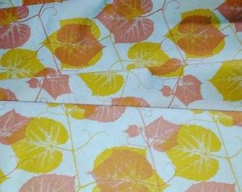 SALE! Fabric of the Week 2.00/Yard - Impressions - Ivy - Orange by Ty Pennington for Free Spirit Fabrics