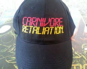 Carnivore embroidered Cap Retaliation Agnostic Front Type O Negative