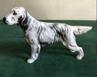 Vintage Royal Doulton English Setter Dog HN 1051