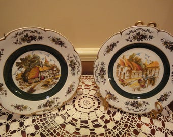 two ascot service plate by wood and sonsmade in decorative wall - Decorative Wall Plates