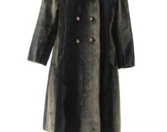 Russel Taylor (Seeotta) 60's Fuax Fur coat Sz Large