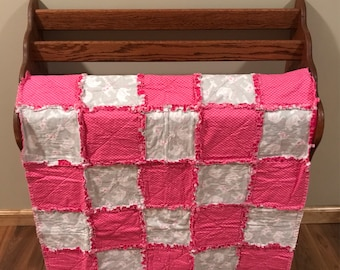 Elephant Infant Rag Quilt