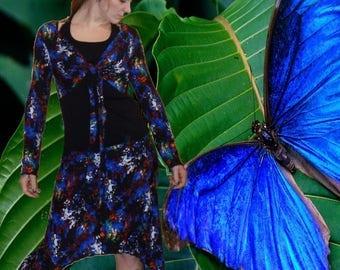 Bolero and skirt 'Blue Space'...