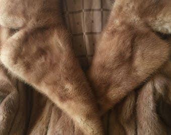 Plus Size MINK Fur Jacket