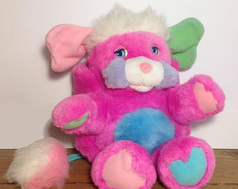 """Little cute """"Popples"""" plush from the 1980's"""