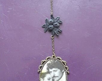 "Necklace vintage series ""photo novels"""