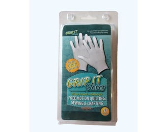 GLOVES for FREE MOTION Quilting, size medium