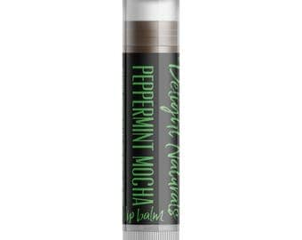 Peppermint Mocha Lip Balm - Single Tube