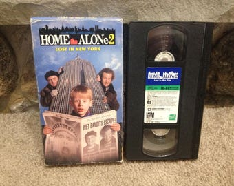 Home Alone 2 Lost in New York Movie VHS Tape
