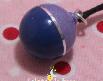 Bola pregnancy bola Xylophone bicolor pailette blue, dark Bulan