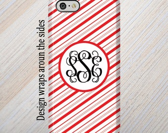 iPhone 8 Case, Monogram, iPhone 6 Case, iPhone 7 Case, iPhone 7 Plus Case, Galaxy S8 Case, Stripes, iPhone 8 Plus Case Galaxy S7 Case