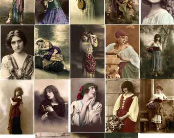 25 RESTORED VINTAGE IMAGES Gypsy Download
