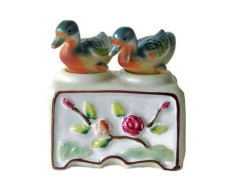 Ducks Nodder Shaker Set - Figural Salt and Pepper Shakers - Housewarming Gift - Salt Shaker Set - Couples Gift