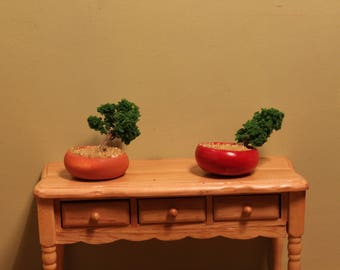 DOLLHOUSE MINIATURE Bonsai