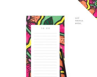 Printable To Do List Tropical Theme Digital Stationery Wedding DIY Template
