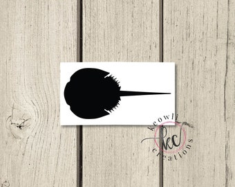 Horseshoe Crab Vinyl Decal