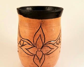 Henna inspired Ceramic holder