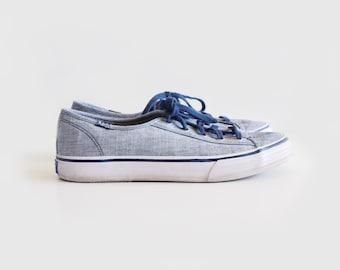 vintage blue Keds sneakers