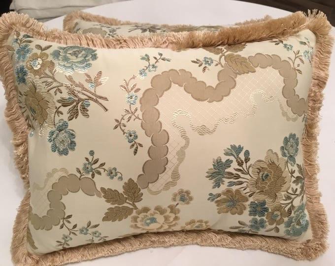 San leucio Silk Pillow
