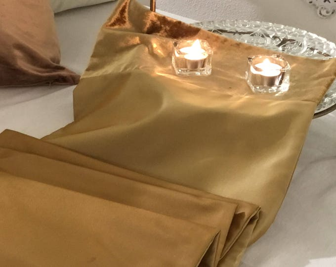 Centerpieces runner gold bronze FREE SHIPPING